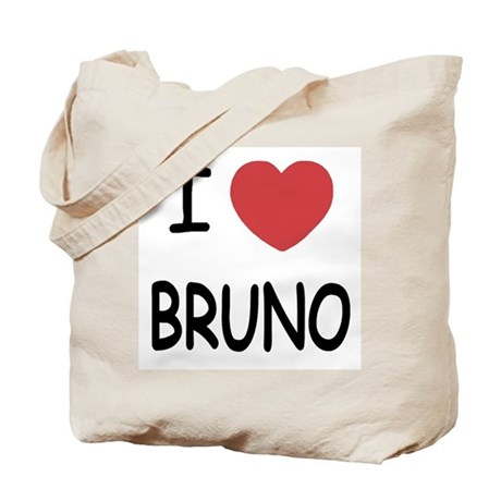 I heart bruno Tote Bag