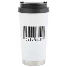 Calvinism Barcode - Ceramic Travel Mug