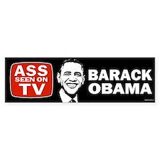 ASS Seen On TV Bumper Sticker