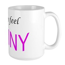 I like to feel shiny Large Mug