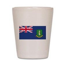 British Virgin Islands Shot Glass