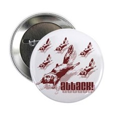 """Flying Squirrels 2.25"""" Button (10 pack)"""