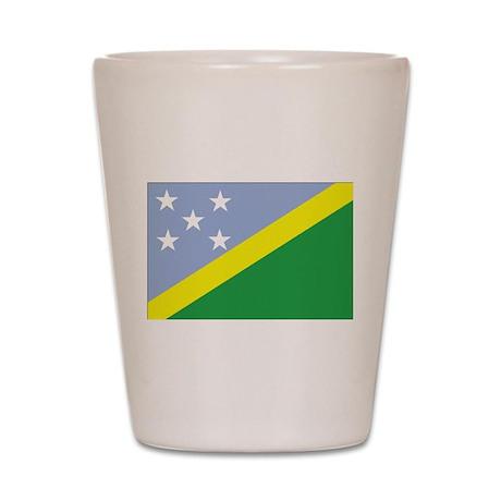 Solomon Islands Shot Glass