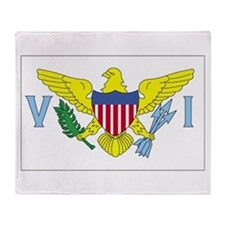 Virgin Islands Throw Blanket