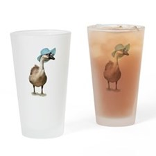 Blue Hat Goose by Gravityx9 Pint Glass