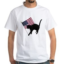 Cat American Flag Shirt