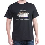 """Give me a Woodie"" dark t-shirt"