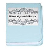 Bless My Irish Roots baby blanket