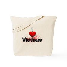 Cute Wierd Tote Bag