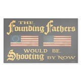 Founding Fathers Shooting Decal