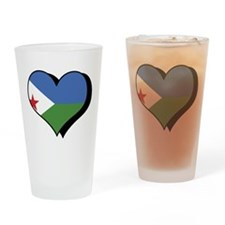 I Love Djibouti Pint Glass