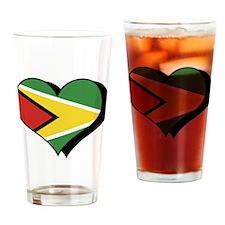 I Love Guyana Pint Glass