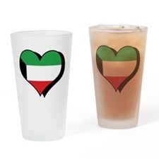 I Love Kuwait Pint Glass
