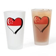 I Love Singapore Pint Glass