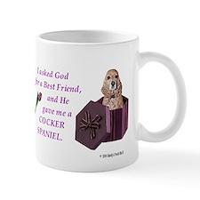 Cocker Spaniel (Tan) Small Mug