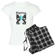 Butterfly Cervical Cancer Pajamas