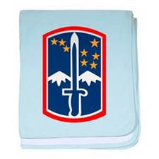 172nd Infantry baby blanket