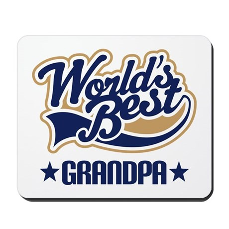 Grandpa (Worlds Best) Mousepad