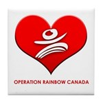 Operation Rainbow Canada Tile Coaster