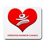 Operation Rainbow Canada Mousepad
