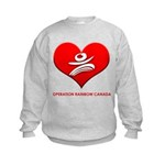 Operation Rainbow Canada Kids Sweatshirt