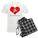 Operation Rainbow Canada Men's Light Pajamas