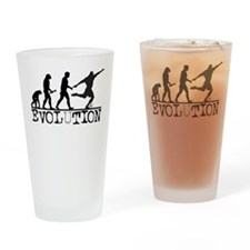 EVOLUTION Soccer Pint Glass