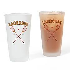 Lacrosse Sticks Pint Glass
