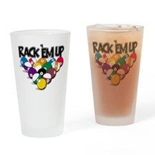 Rack Em Up Pool Pint Glass