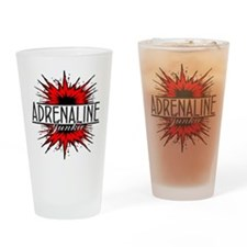 Adrenaline Junkie Pint Glass