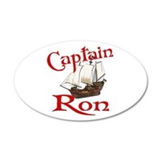 Captain Ron Wall Decal