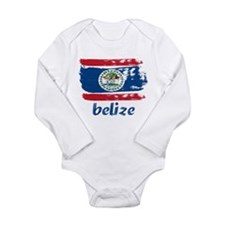Belize Long Sleeve Infant Bodysuit
