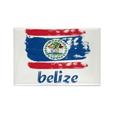 Belize Rectangle Magnet (100 pack)