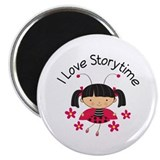 I Love Storytime Reading Magnet