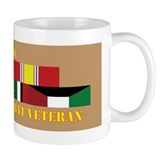 USN Gulf War Vet 3 Star Coffee Mug