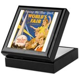 World's Fair Keepsake Box