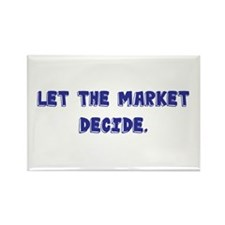 Cool Free markets Rectangle Magnet