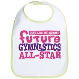 Future Gymnastics All Star Girl Bib