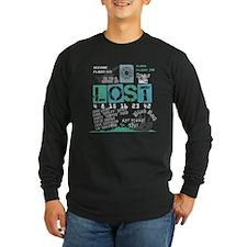 Lost Stuff Long Sleeve Dark T-Shirt
