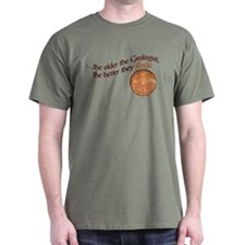 The older the Geologist... T-Shirt