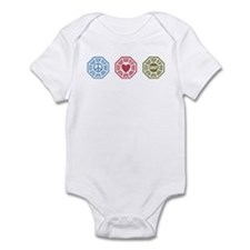 Peace Love Lost [dh_i] Infant Bodysuit