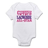 Lacrosse Future All Star Girl Infant Bodysuit