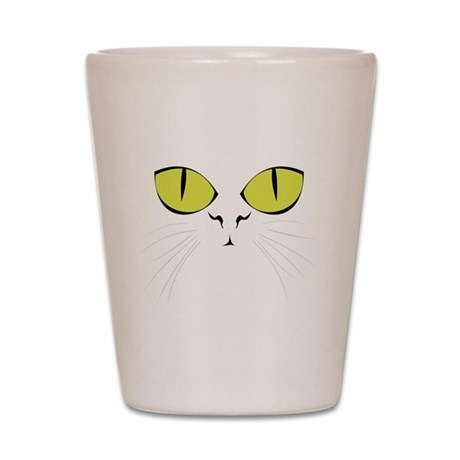 Cat's Face Shot Glass