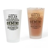 Gemini Pint Glass