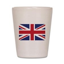 Flag of the United Kingdom Shot Glass