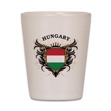 Hungary Shot Glass