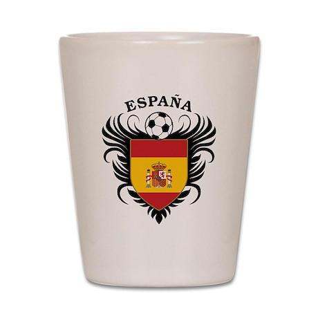 Espana Futbol Shot Glass