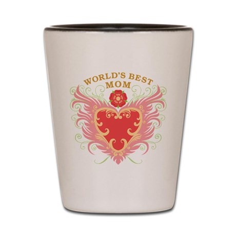 World's Best Mom Shot Glass