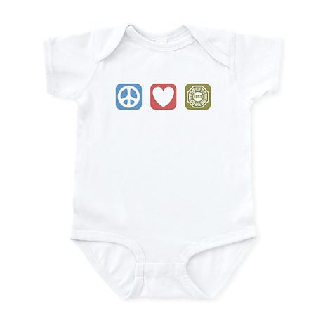 Peace Love Lost [i] Infant Bodysuit