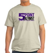 Five Point Calvinist - T-Shirt